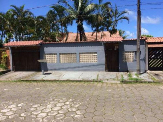Excelente Casa No Jd. Califórnia Em Itanhaém,confira!4806