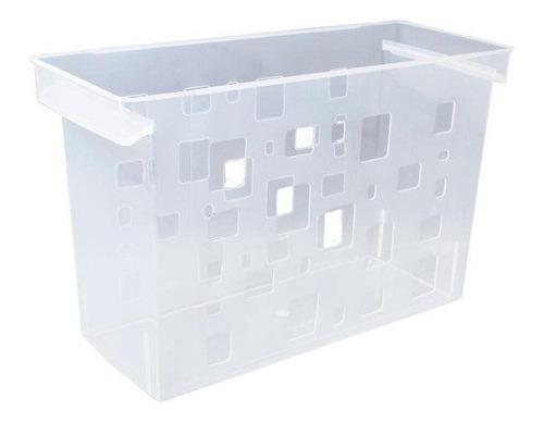 Caixa Arquivo Cristal Dellocolor