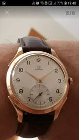 Relógio Omega Ferradura 36mm Ouro.
