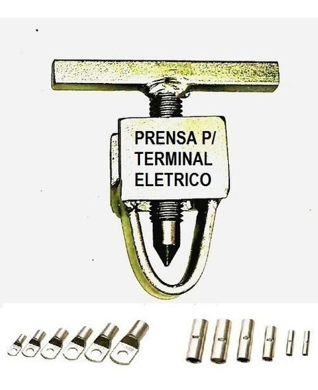 Ferramenta Prensa De Terminal Eletrico 5.5 A 25mm²