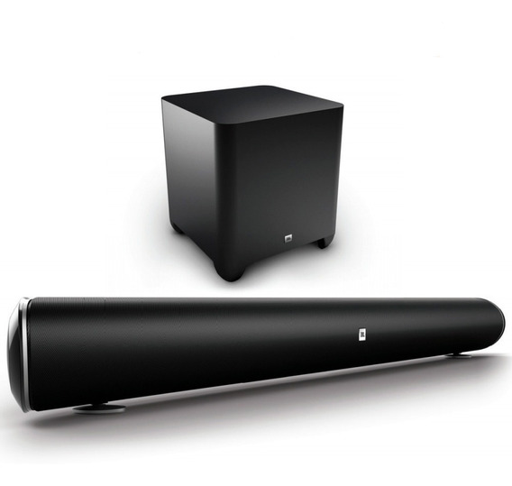 Sound Bar Jbl Cinema Sb450 Com Subwoofer Original Lacrada Nf