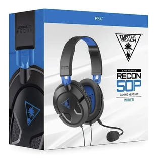 Auricular Gamer Turtle Beach 50p Earforce Ps4 Pc Sevengamer