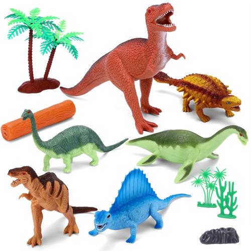 Imagen 1 de 7 de Juegos Juguetes Dinosaurio Yarloo, 26cm Gran T-rex Jurasico