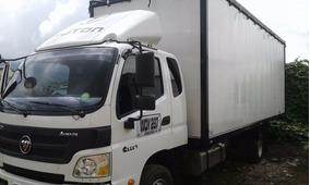 Venta O Permuta Camión Con Furgón Marca Foton Nuevo