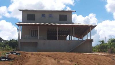Casa C/ 4 Suites, Um Banheiro Social, Cozinha, Sala, Garagem