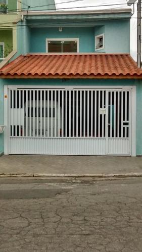 Imagem 1 de 19 de Lindo Sobrado À Venda - 4 Quartos - 2 Vagas - Parque Erasmo Assunção - Santo André - Sp  - 30179