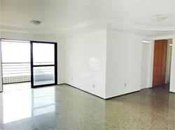 Apartamento Com 3 Quartos, 125 M², Móveis Projetados, 2 Vagas - Varjota - Fortaleza/ce - Ap1350