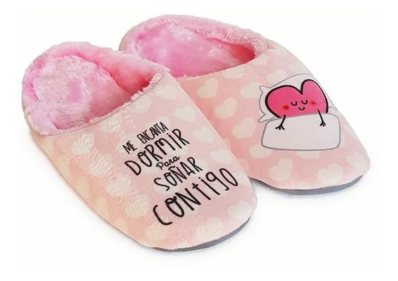 Pantufla Sweet Dreams Livianas Moda Cool Michelle Rosa
