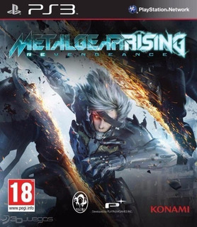 Metal Gear Rising Revengeance ~ Ps3 Digital Español