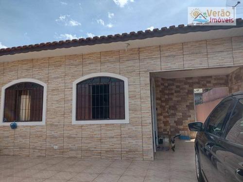 Casa Com 3 Dormitórios À Venda, 150 M² Por R$ 230.000,00 - Jardim Cibratel - Itanhaém/sp - Ca0839