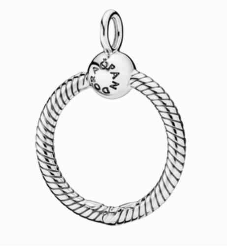 Imagen 1 de 7 de Collar Con Colgante Pandora O Chico