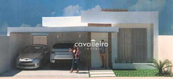 Casa Com 3 Dormitórios À Venda, 159 M² De Construção- Cajueiros (itaipuaçu) - Maricá/rj - Ca3406
