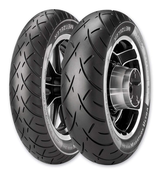 Par Pneu Honda Gold Wing 1800 130/70-18 180/65-16 Metzeler