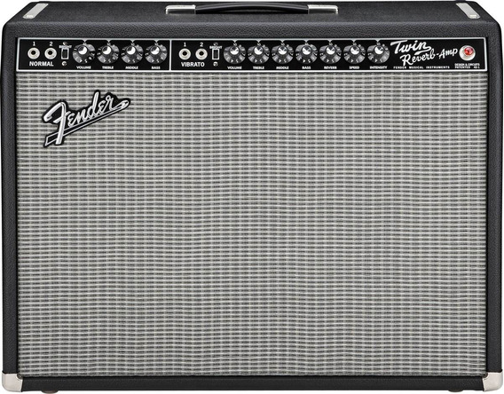Fender Twin Reverb 65 Blackface Usa 110v +case. Trocas!