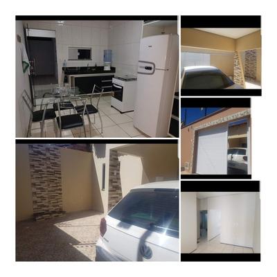 Casa Nova Com 02 Quartos E Dois Banheiros