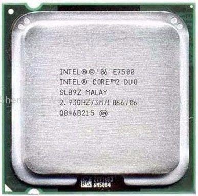 Processador Intel Core 2 Duo E7500