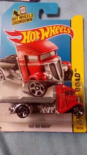 Hot Wheels Fast Bed Hauler - Vermelho
