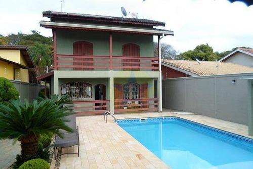 Casa Residencial À Venda, Jardim Paulista, Atibaia. - Ca1590