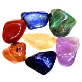 7 Pedras Naturais Dos Chakras Cristais Mandala De Luz P