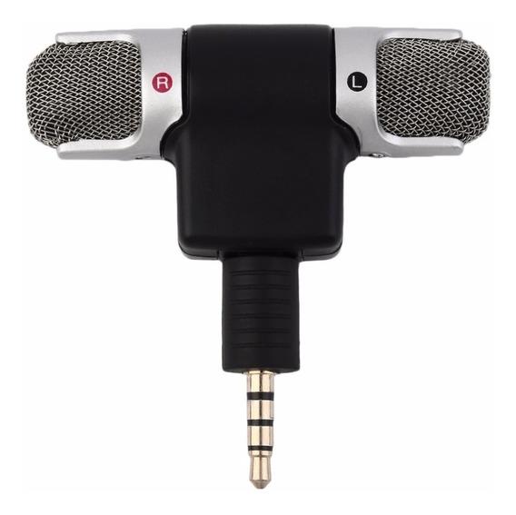 Mini Microfone Stéreo P3 Celular Android