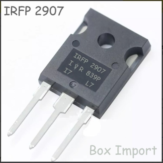 5 Pcs Transistor Irfp2907 Irfp 2907 Original Envio Imediato