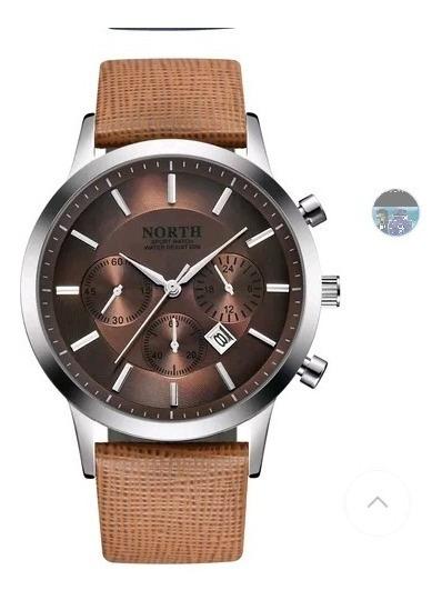 Lindo Relógio North Muito Elegante + Brinde