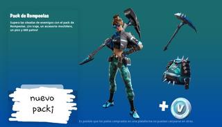 Fortnite Pack Rompeolas¡ Pc/ps4 /xbox/nintendo Las 24 Hs