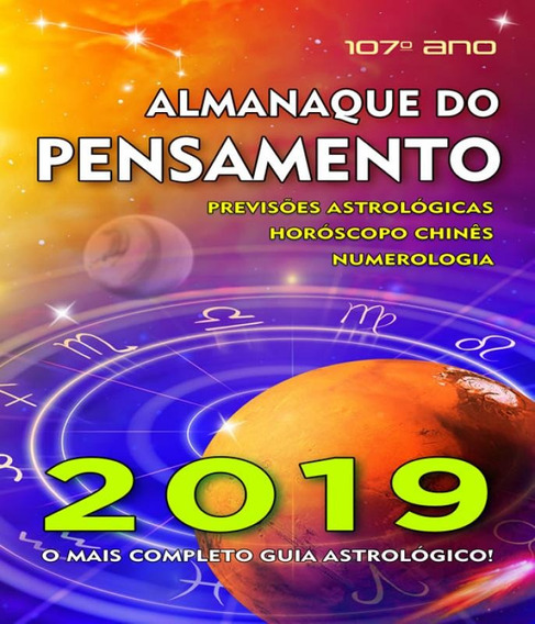 Almanaque Do Pensamento - 2019