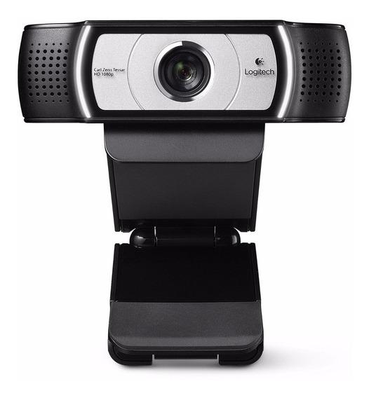 Logitech C930e Webcam Full Hd 1080p Com Microfone -cx Aberta
