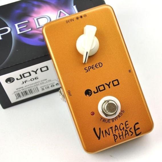 Pedal Guitarra Joyo Jf06 Vintage Phase Jf 06
