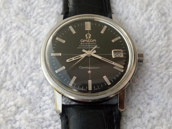 Reloj Omega Constellation En Acero Automatico Original