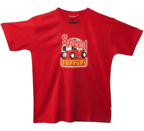 Camiseta De Niño Ferrari, Speed