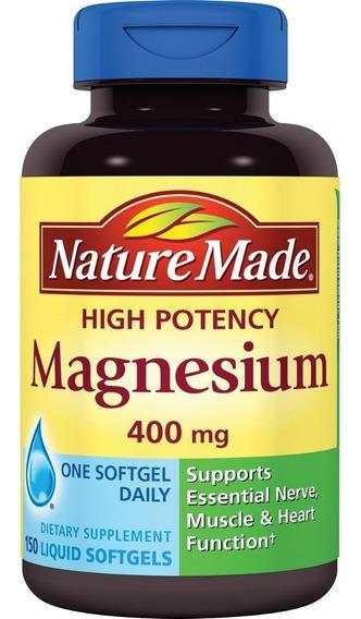 Suplementos - Magnesio 400 Mg - 150 Capsulas