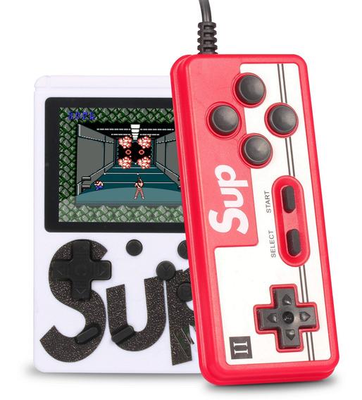 Vídeo Game Portátil Sup Game Boy 400 Jogos Retro Clássico Sega Nes Gba Controle Multiplayer Ligue Tv