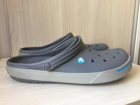 Crocs Crocband Cinza Tamanho 43