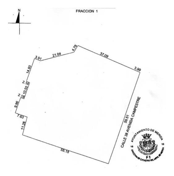 Terreno En Venta En Mérida, Ideal Para Proyecto Residencial En Av. Campestre