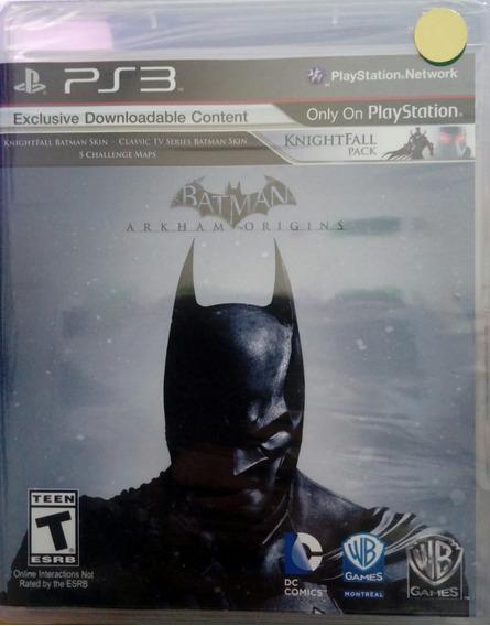 Batman Arkham Origins Ps3 Novo Lacrado Envio Imediato