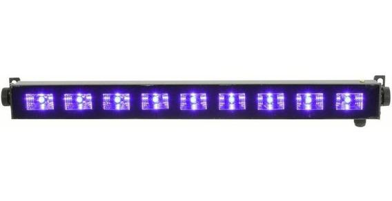 Ribalta Refletor Uv Luz Negra Efeito 9 Leds Iluminação
