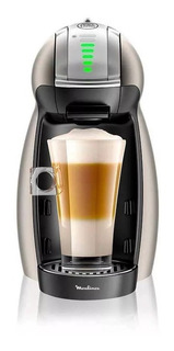 Cafetera Moulinex Dolce Gusto Genio 2 Platinum Pv160t58