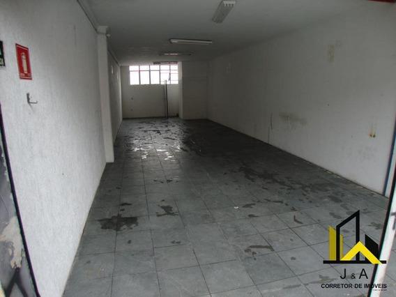 Salão Comercial Para Locação Em Osasco, Jardim Das Flores, 1 Banheiro - Sl 00003_1-1339597