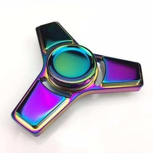 Spiner Spinner Metal Rolamento Abec15 Cromado Star 3 Pontas