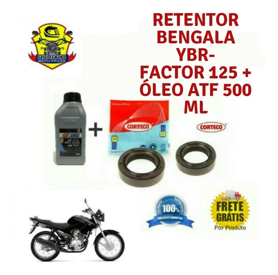 Retentor Bengala Ybr-125 Factor +oleo Atf 500ml