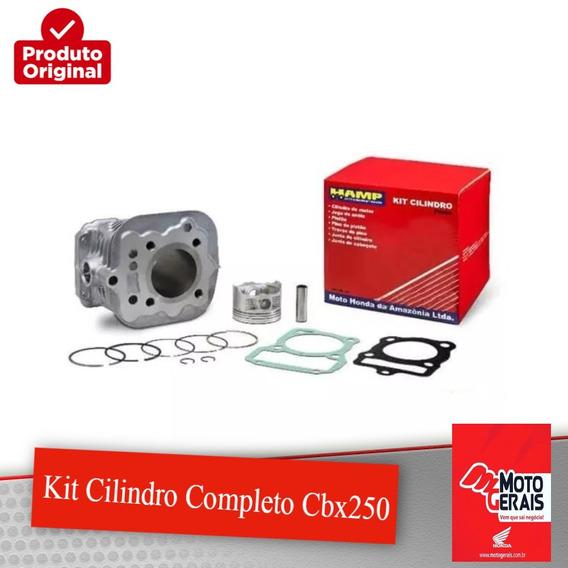 Kit Cilindro Completo Cbx250/tonad-original Honda Hamp-01/08