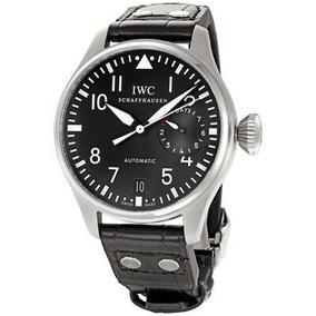 85cd9a88ed10 Reloj Iwc Classic Pilot Big Steel Black Para Hombre De Segu