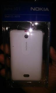 Capa Nokia Asha 501 Branca