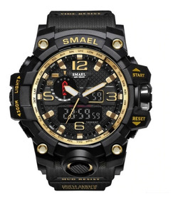 Relógio Masculino Original Smael Militar Shock Prova D