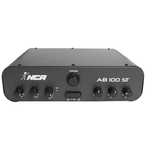 Amplificador Som Ambiente Nca 60w 4 Ohms Ab 100 St