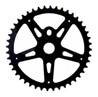 Engranaje Bicicleta Playera 44 Dientes Negro - Racer Bikes