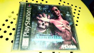 Playstation Ps1 Video Juego Shadow Man Completo Con Envío