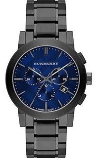 Burberry Hombres Cronógrafo Suiza Gris Ion-plated Reloj De P